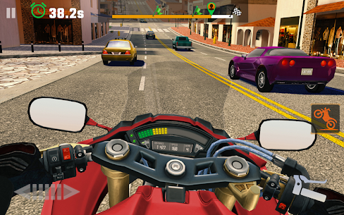 Moto Rider GO: Highway Traffic MOD APK (Unlimited Money) 5