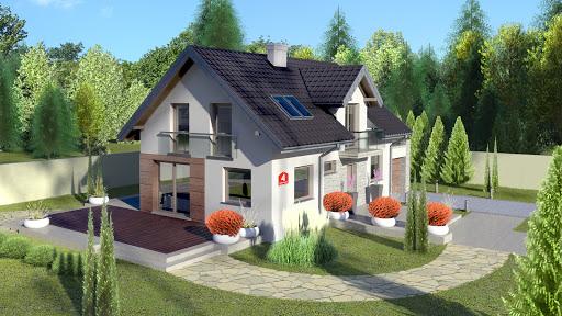 projekt Dom przy Alabastrowej 4