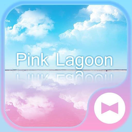 Cute Wallpaper Pink Lagoon Theme Icon