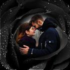 Black Rose Photo Frame icon