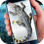Crocodile in Phone Big Joke