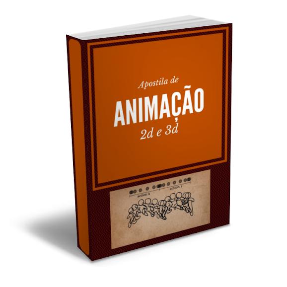 Apostila De Animação 2d E 3d Frete Grátis
