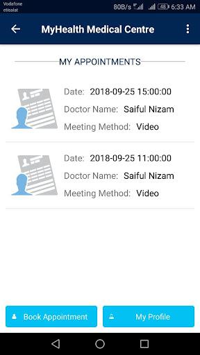 MyHealth Medical Centre screenshot 5