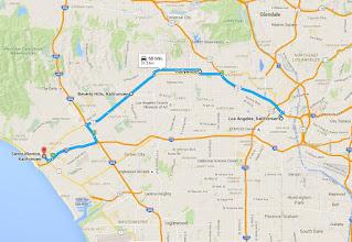 Photo: 2. Tag: Fahrt durch Los Angeles