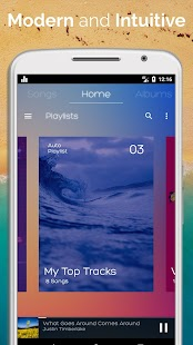 Beautiful Music Player - náhled