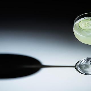 Cucumber Gin Gimlet.