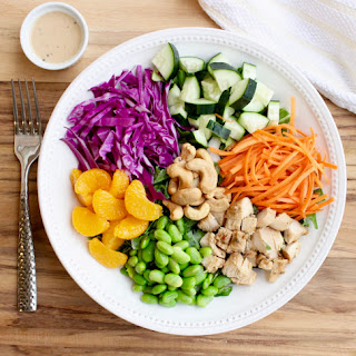 Asian Miso Chicken Salad