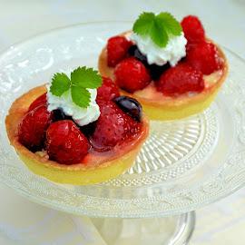 Strawberry tartlets by Heather Aplin - Food & Drink Candy & Dessert (  )