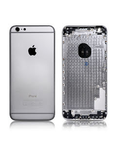 iPhone 6 Plus -Housing without small parts HQ Silver