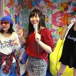 Free Karaoke at Harajuku Kawaii Room in Tokyo, Tokyo, Japan