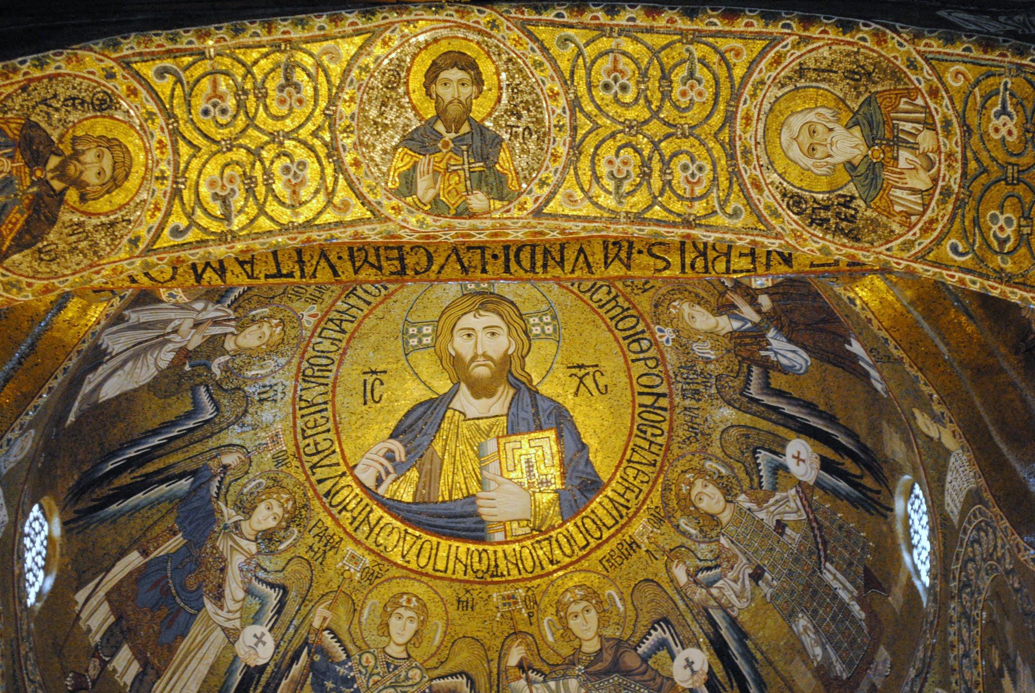 My Photos: Italy -- Mosaics -- Sicily -- Palermo