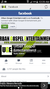 Urban Gospel LIVE- screenshot thumbnail