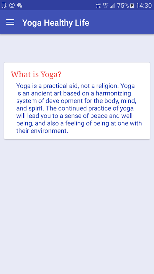 Yoga - Healthy Life- screenshot