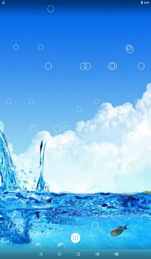 water bubble live wallpaper android apps on google play
