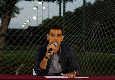 Rafael Marquez (ex-Barça) vient d'entamer sa nouvelle carrière d'entraineur