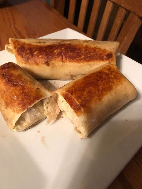 Chicken And Cream Cheese Taquitos Recipe