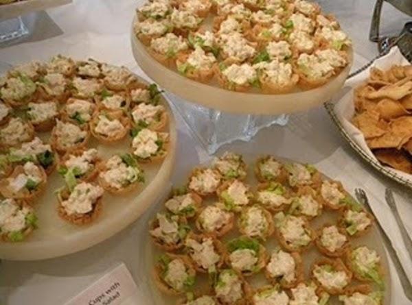 Orange Chicken Salad Cups by Angela Gray **Power of Orange Appetizer Contest Winner