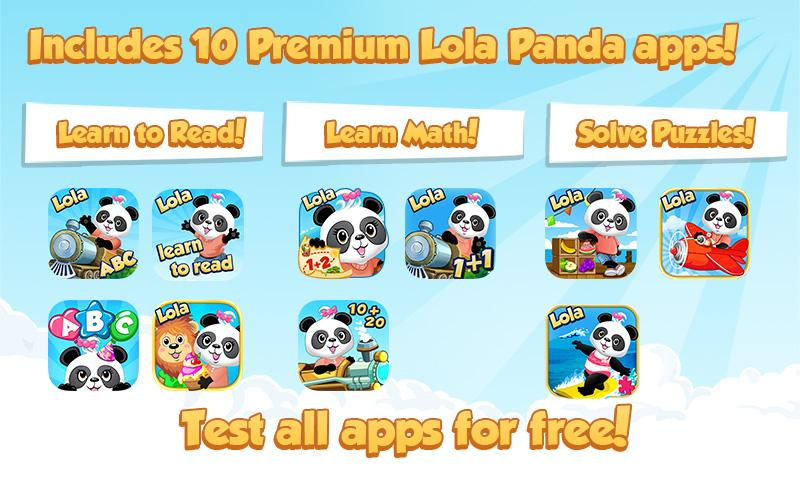 Lola's Learning Pack- screenshot