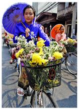Photo: Bicycle Girls - Chiang Mai, Thailand