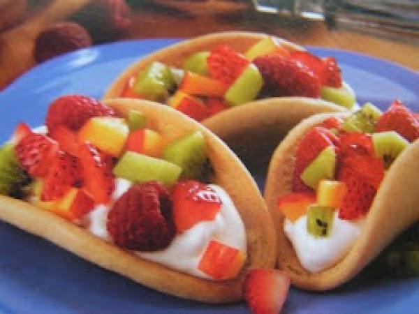 Sugar Cookie Fresh Fruit Tacos Recipe