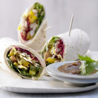 Asian Wraps With Tortilla Recipes.