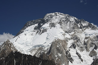 Photo: Broad Peak (8051m), the world's 12th highest mountain.