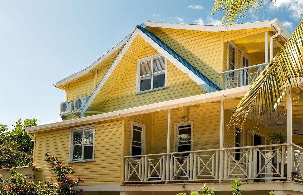 Casa típica da Isla de San Andrés