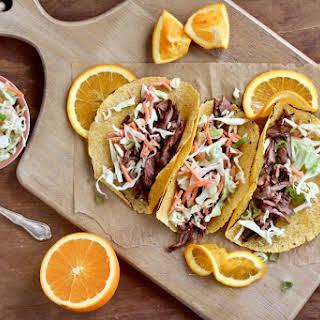 BBQ Skirt Steak Tacos.