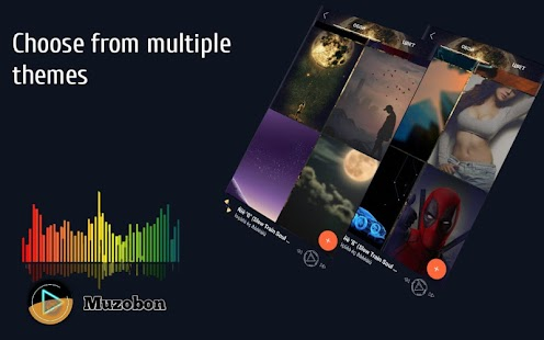 Music player Muzobon Pro Screenshot