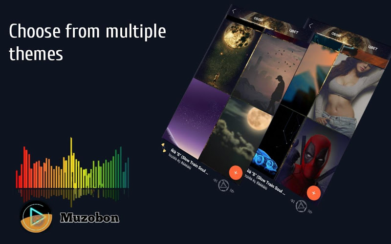 Music player Muzobon Pro Screenshot 2