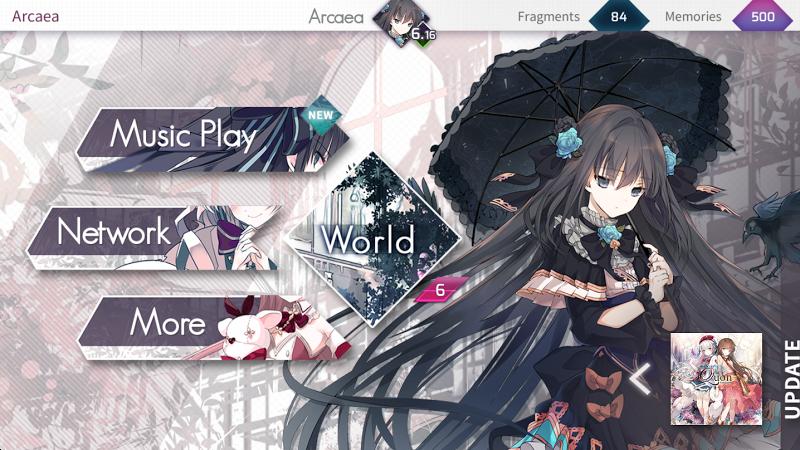 Arcaea - New Dimension Rhythm Game Screenshot 1