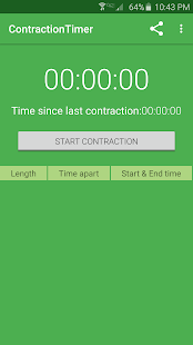 Simple Contraction Timer- screenshot thumbnail