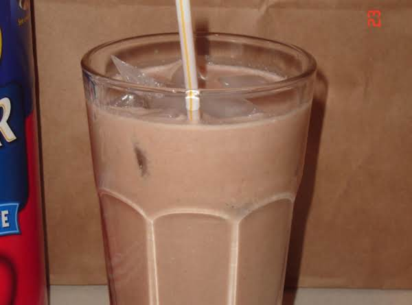 Power Banana/chocolate Breakfast Oatmeal Smoothie