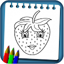 Fruit Coloring Drawing Book New Coloring Pages APK
