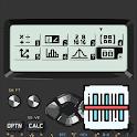 Engineering calculator 300 plus, QR camera scanner icon