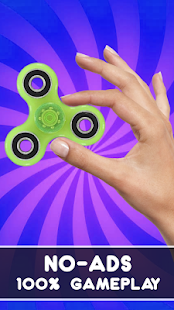 Fidget Spinner: Real Simulator Screenshot