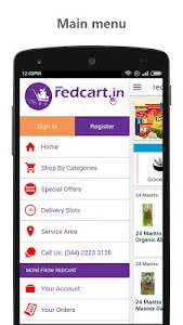 redcart - Grocery Shopping App screenshot 1