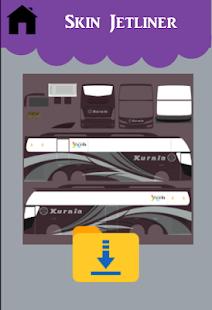 Mod Bussid Livery Jetliner SHD Rahayu Apk Download