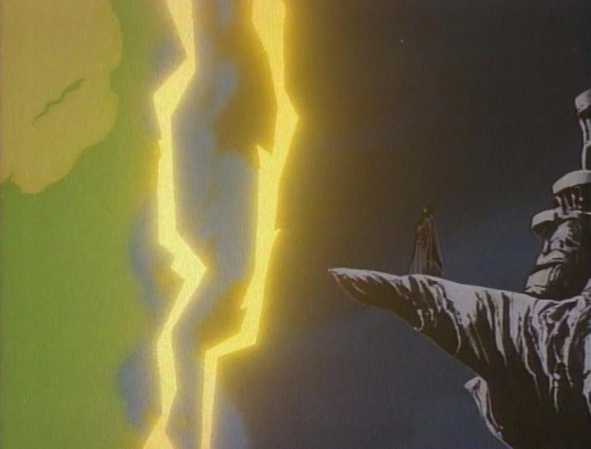 Venger confronts the storm