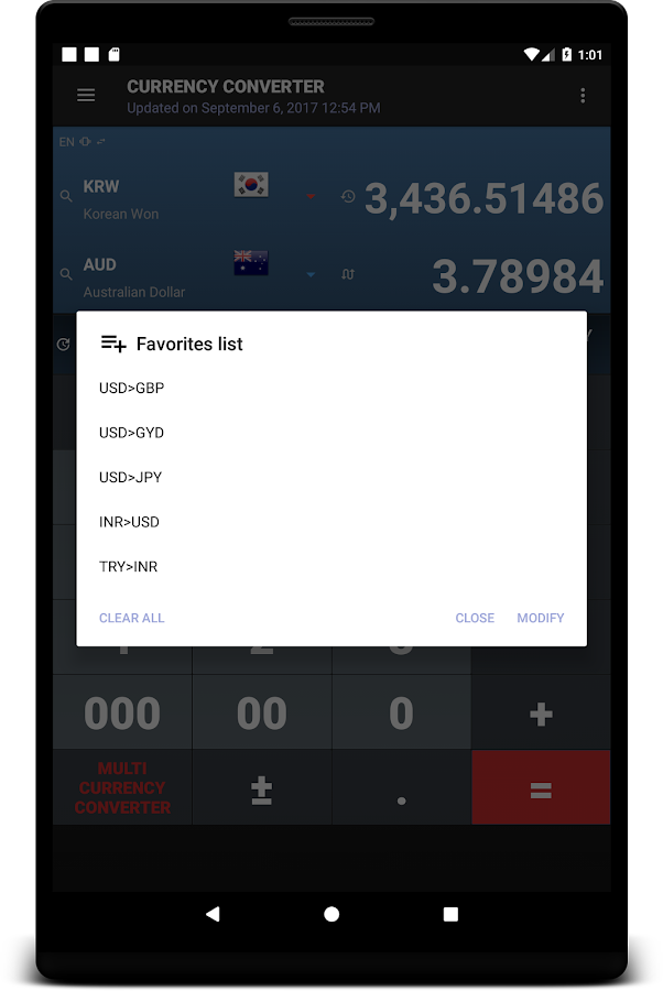 All Currency Converter- screenshot