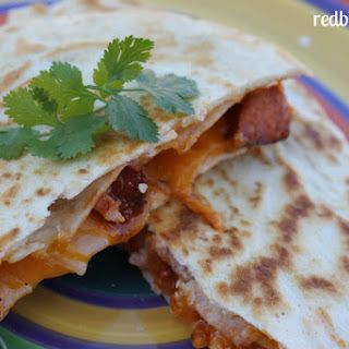 Slowed Cooked Pork BBQ Quesadillas Recipe