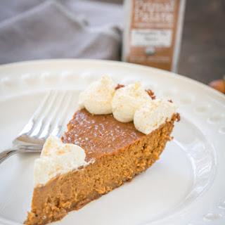 Classic Pumpkin Pie with a Gingersnap Crust