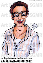 Photo: Pic two of ten for Nate Hashem, of his coworker Aaron. The commissions for Nate will be uploaded 2 per day over the next week (there will be 5 days total... depends upon when I have the free moment to upload them), so yay, new art!  Here's the second pic of Aaron. TOTALLY faked his undershirt. Can you tell? Bah, I knew you couldn't XD Hee.  Nate owns http://www.adrenalads.net/about where you can find three of the ten pics I did for his about page :D YAY! :D Hee.  I WILL BE AVAILABLE FOR COMMISSIONS STARTING SEPTEMBER 15. Stay tuned for more info  #commissions #markerart #illustrations #bustedheads #bustingheads