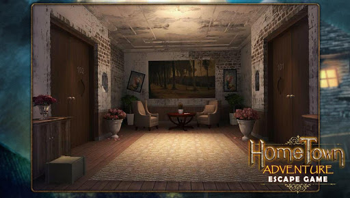 Escape game:home town adventure 12 screenshots 1