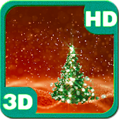 Christmas Tree Snowfield 3D