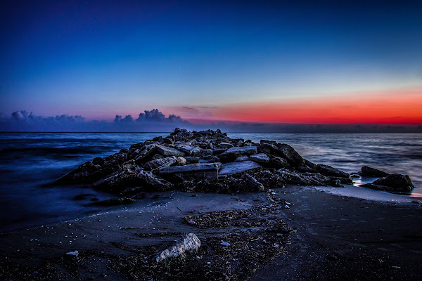 Red Horizon Beyond the Blue Twilight Soul di JohnnyGiuliano