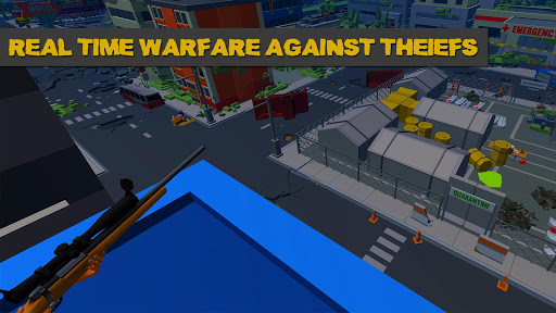 Thieves vs Snipers - The Real Heist apkmind screenshots 2