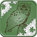 Puzzles for adults animals icon