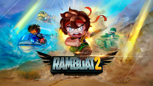 Ramboat 2 – Soldier Shooting Game poster