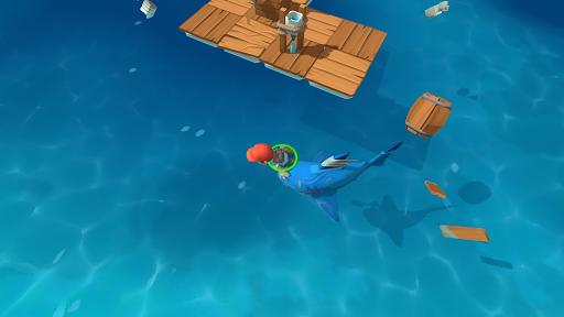 Epic Raft: Fighting Zombie Shark Survival 0.7.0 screenshots 2